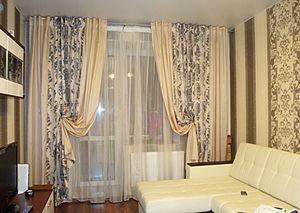 Шторы для окна в гостинной