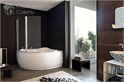 Как установить шторки на ванну