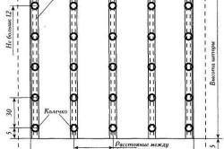 Выкройка французской шторы