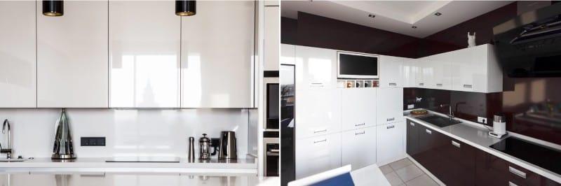 Кухонный гарнитур в стиле минимализм
