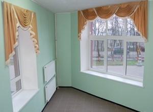 Ламбрекены на два окна
