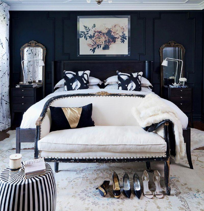 Black and white bedroom 9 (300)