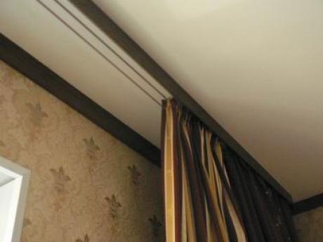 Потолочный монтаж зрительно увеличивает высоту помещения