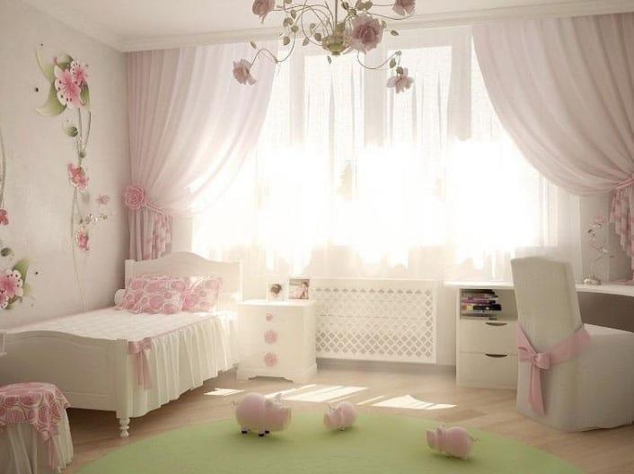шторы для девочек 7 лет