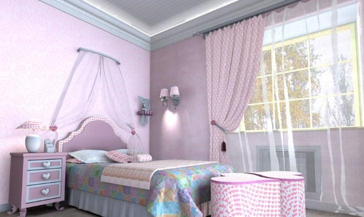 шторы для девочек 14 лет