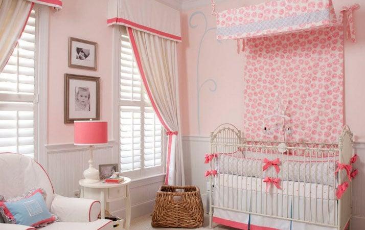 шторы для девочек 2 года