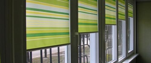 Рулонные шторы Classic