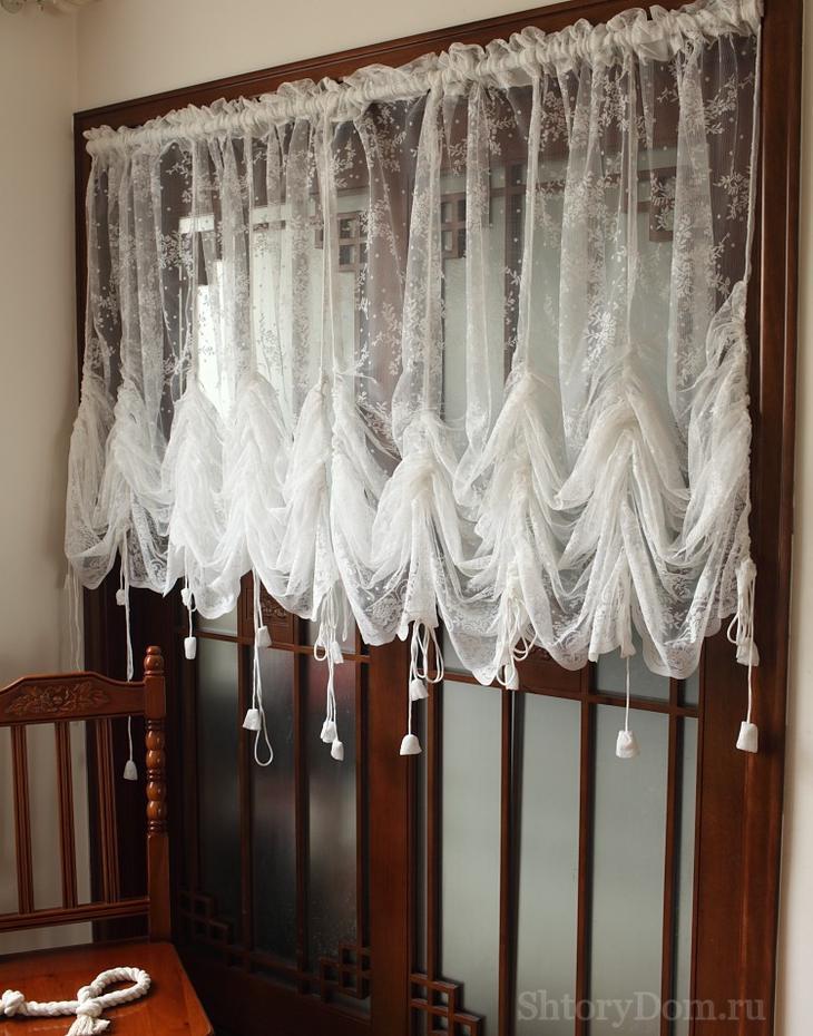 Винтажный стиль шторы маркиза