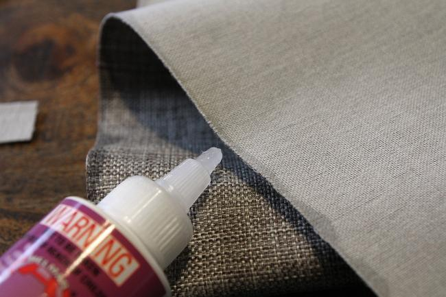Обработка кромок ткани