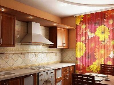 жалюзи и шторы для кухни