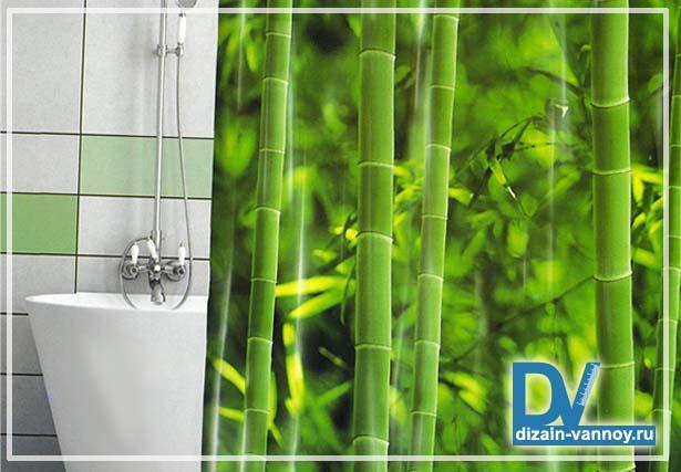 шторы для ванной комнаты 3d