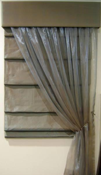 Римские шторы с тюлью: интересные идеи, сочетание цветов и фактур, фото, советы дизайнеров