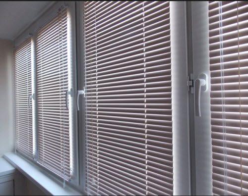 жалюзи для балконов