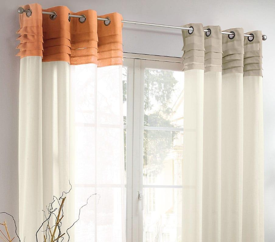 шторы с люверсами