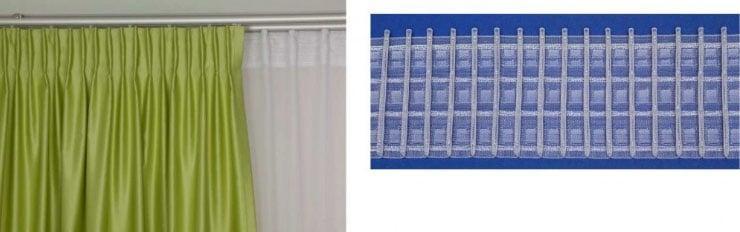 вшитая лента в штору