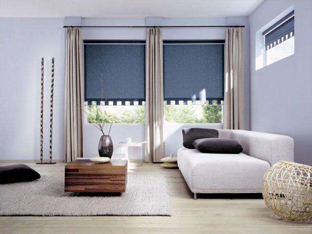 рулонные шторы для зала