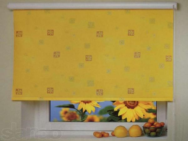 идеи шторы для кухни