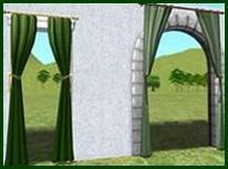 Как лучше повесить шторы на арку фото