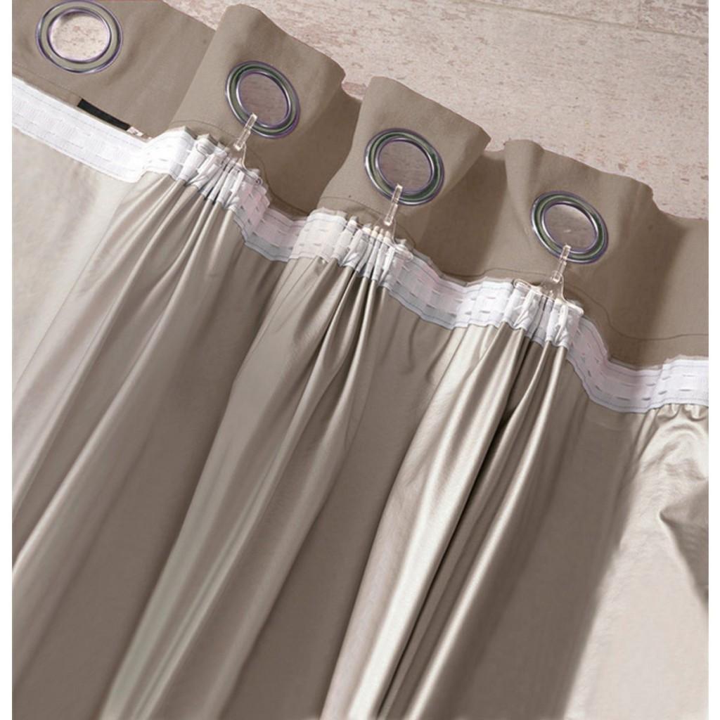 шторы на люверсах с тюлью