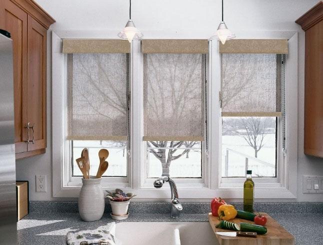 шторки на маленькие окна