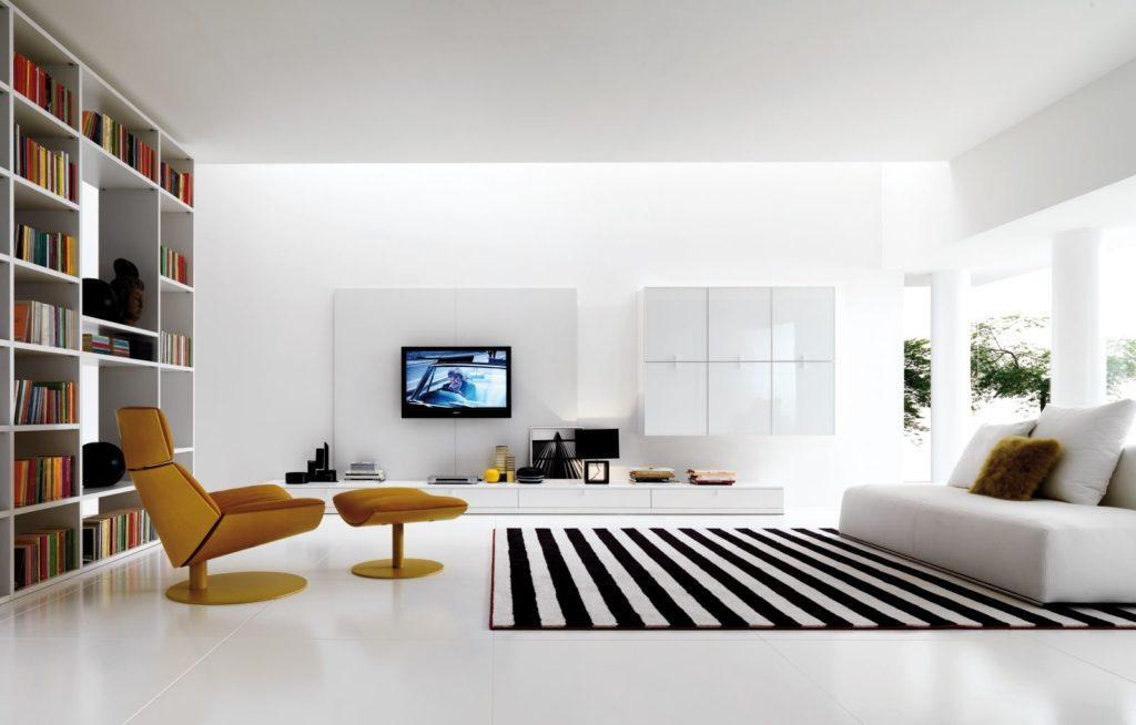 Фото белого дивана