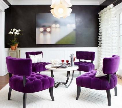 бархатные стулья