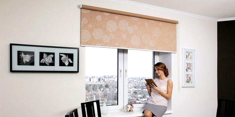 купить рулонные шторы в интернет-магазине в Москве