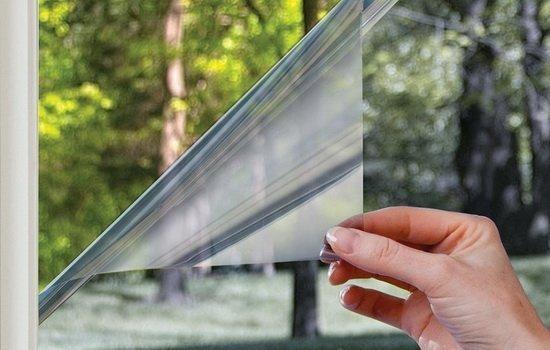 Пленочный экран способен защитить от солнца, не закрывая обзор