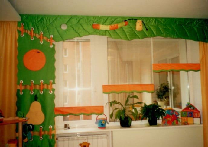 креативные шторы