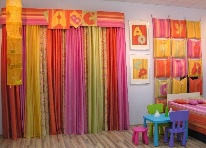 шторы для детей