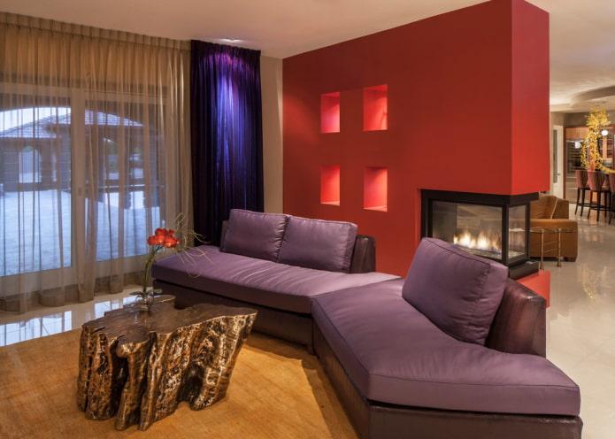 модульный диван из эко-кожи