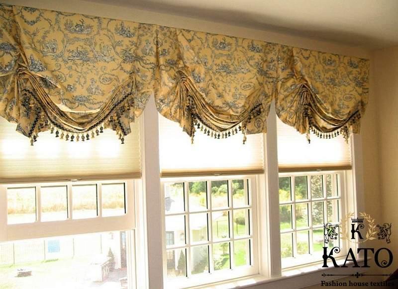 шторы на не стандартные окна
