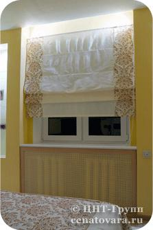 Рулонные шторы, римские шторы и жалюзи на окна