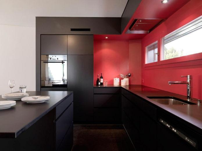 Черно-красный минимализм
