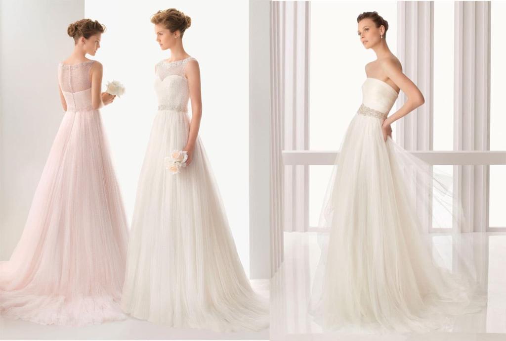 свадебное платье из тюля