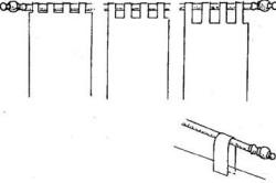 Широкие тканевые петли