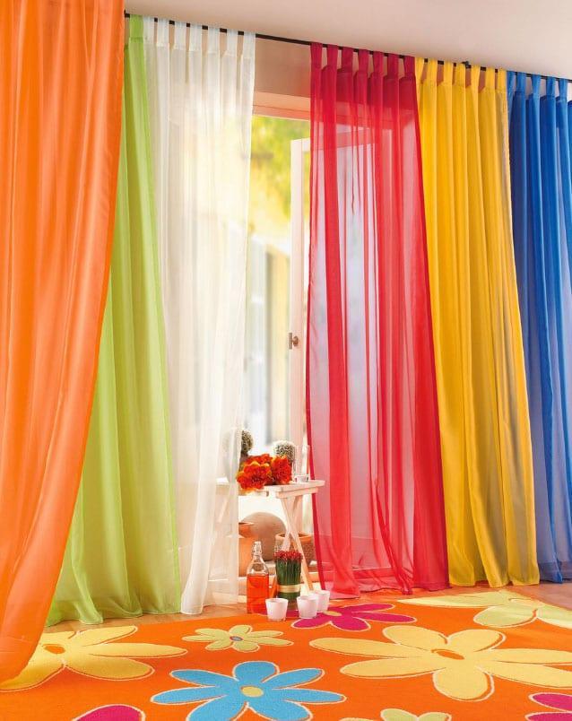 Радужные шторы