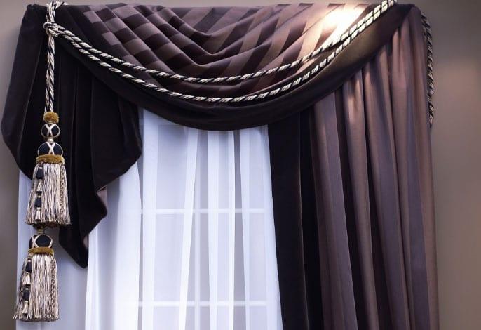 красиворазмещенные шторы