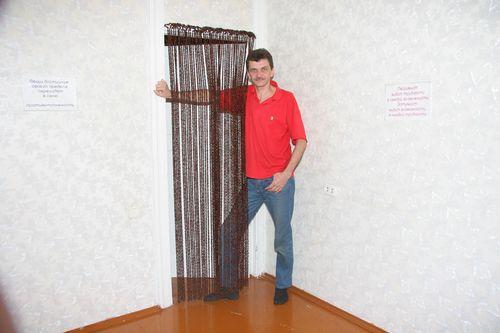 Шторы-висюльки на дверной проём: от выбора до шитья