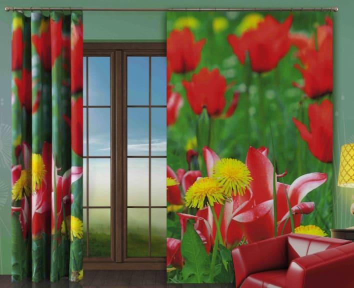 шторы Wisan с цветами