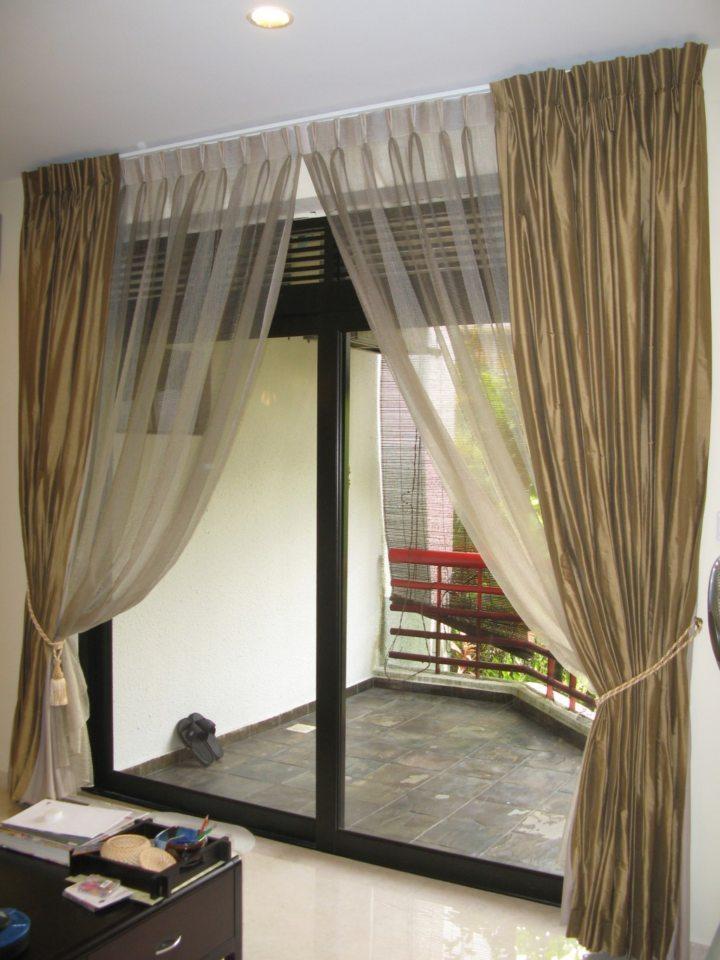 Satin curtains (7)