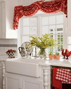 Эркер в кухне - идеальное место для живых цветов