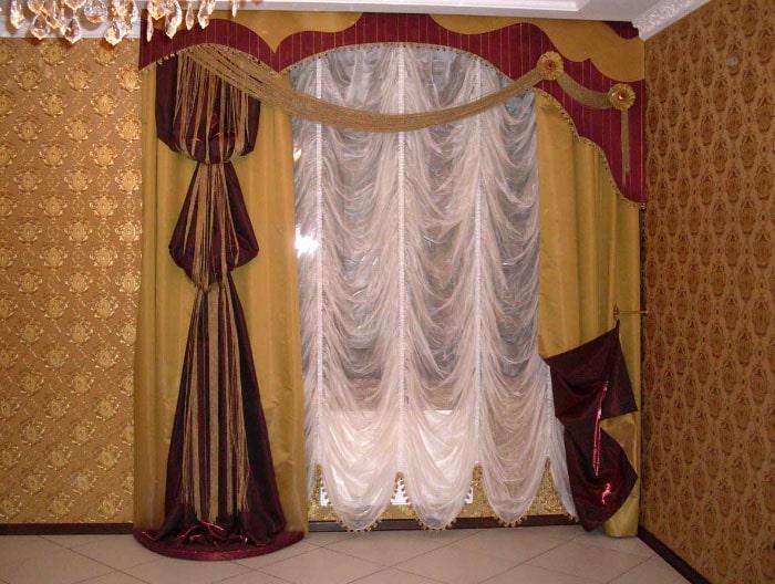 шикарные французские шторы
