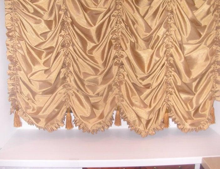 французский пошив штор