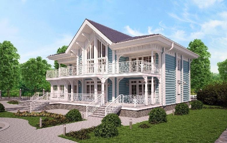 Дом в стиле дворянской усадьбы – нюансы и особенности