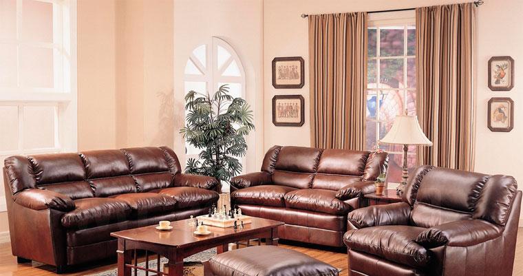Какие шторы подойдут к коричневой мебели