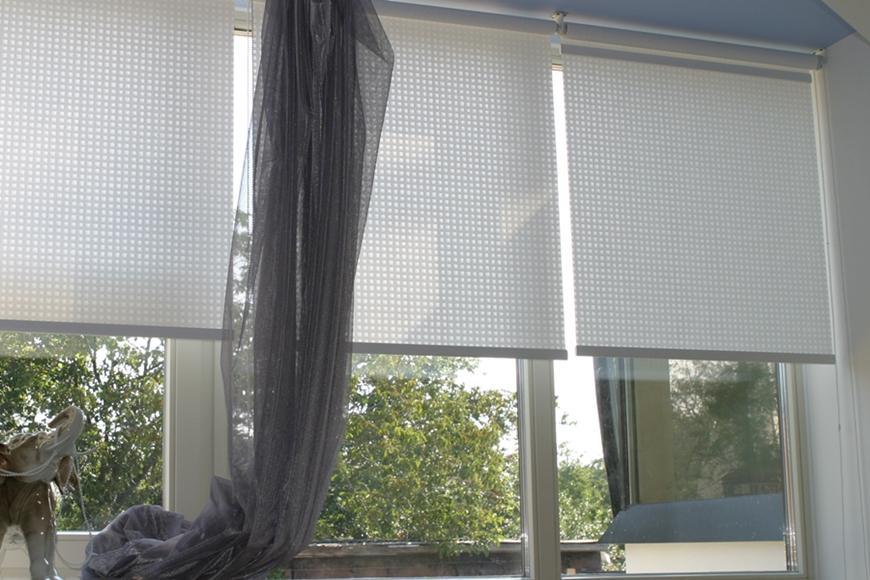 Разновидности автоматических рулонных штор