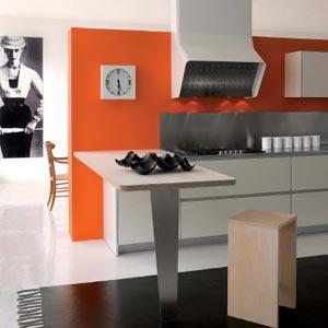 Оранжевый и серый