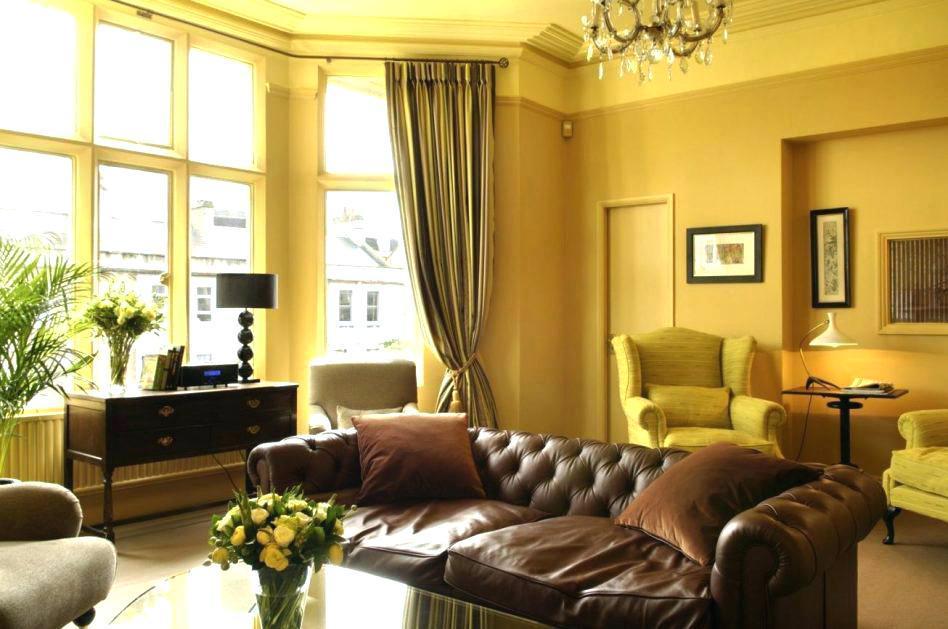Фото № 11: Горчичный цвет в интерьере квартиры: 20 ярких идей