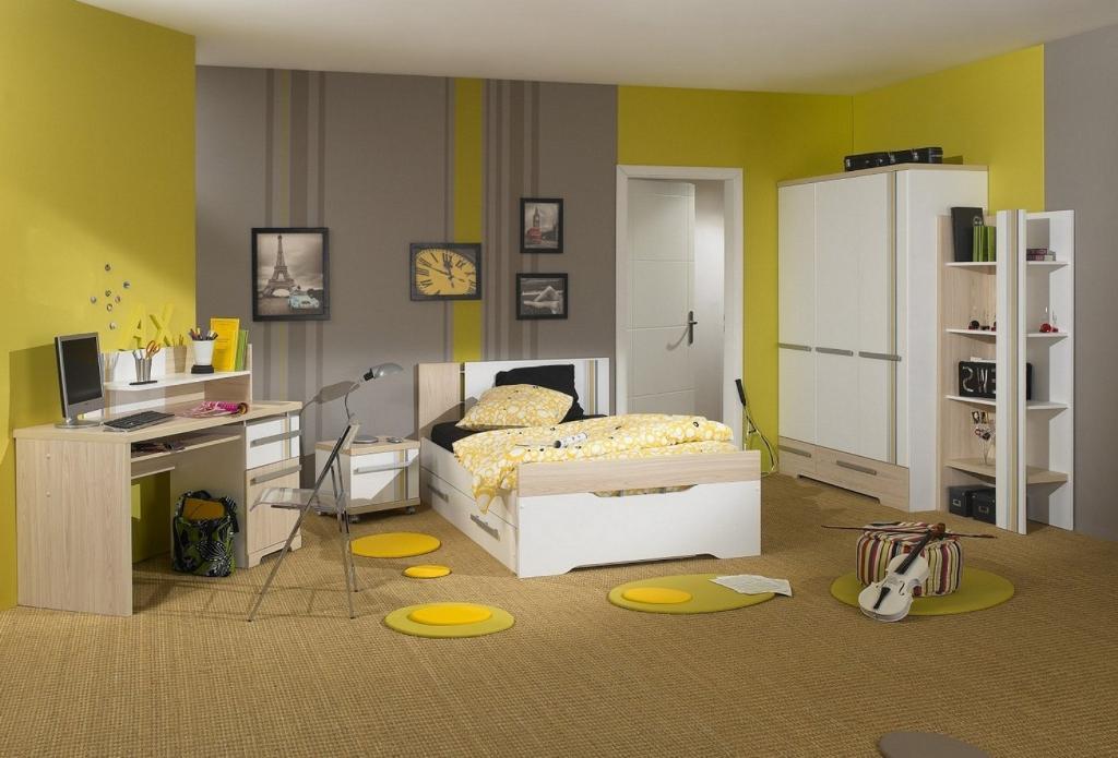 Фото № 7: Горчичный цвет в интерьере квартиры: 20 ярких идей